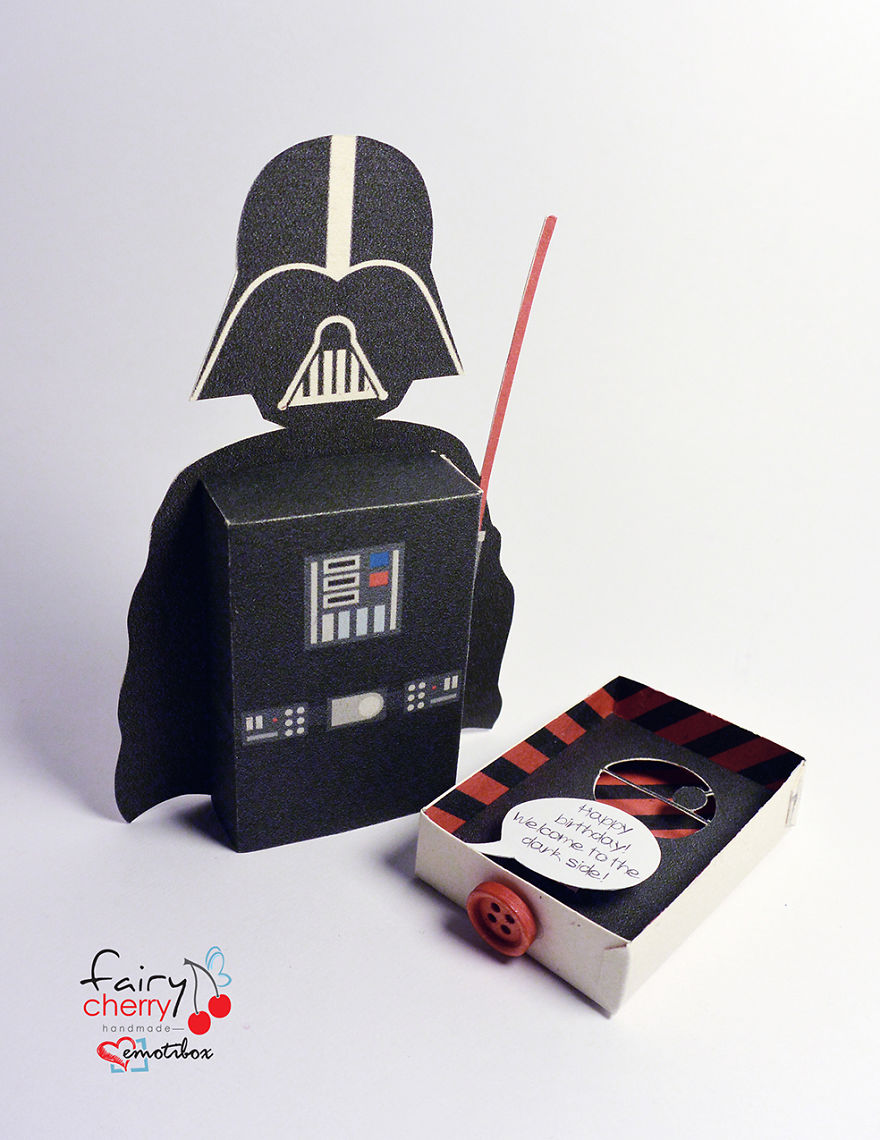 Emotiboxes send your greetings with famous movie characters bored darth vader emotibox bookmarktalkfo Image collections