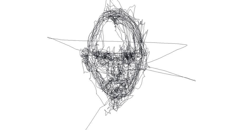 I Draw Portraits Using Only My Eyes Bored Panda