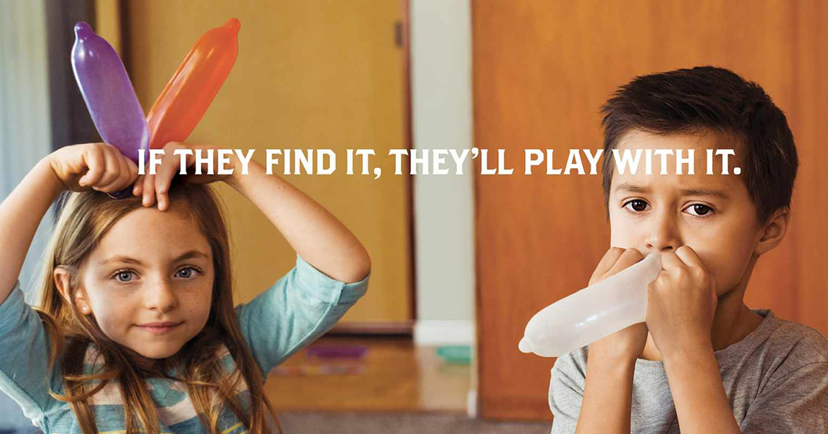 Lock Up Your Guns: Funny Ad Campaign Uses Dildos & Condoms To Promote Gun Safety