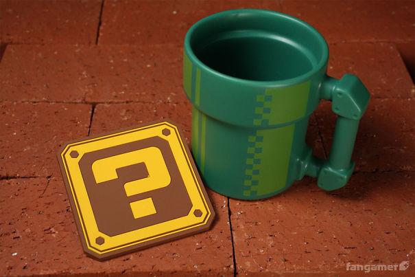 Super Mario Mug And Coaster