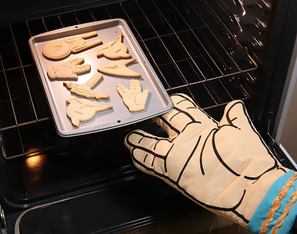 Spock Oven Mit