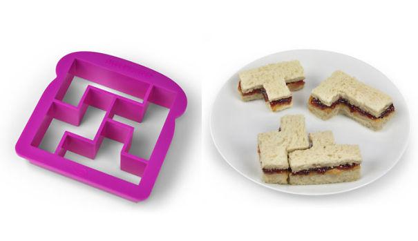 Tetris Sandwich Shaper