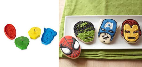 Marvel Superhero Cookie Cutters