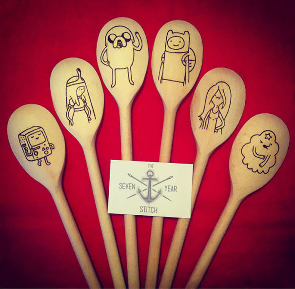Adventure Times Wooden Spoons