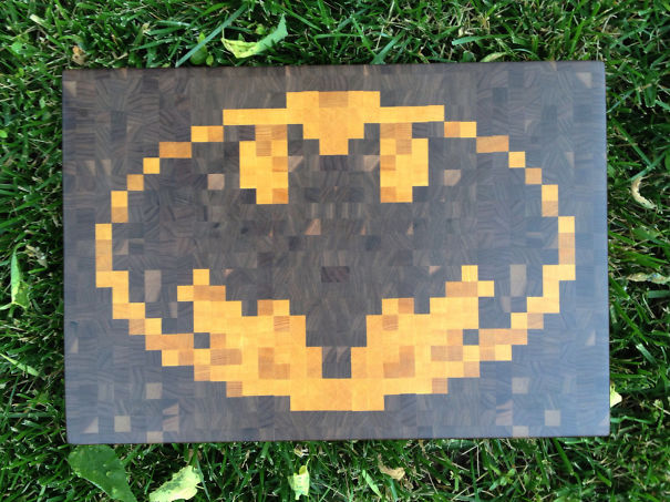 Batman Cutting Board