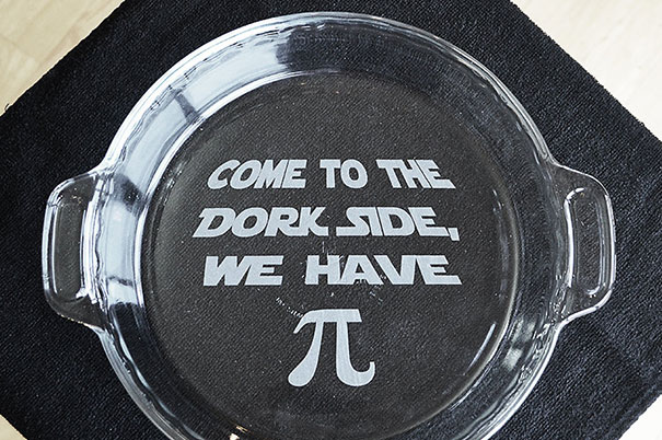 Star Wars Pie Plate