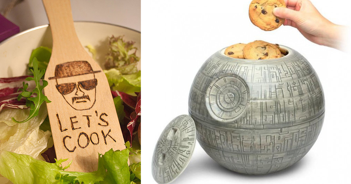 20+ Geeky Kitchen Items To Satisfy Every Nerd's Needs