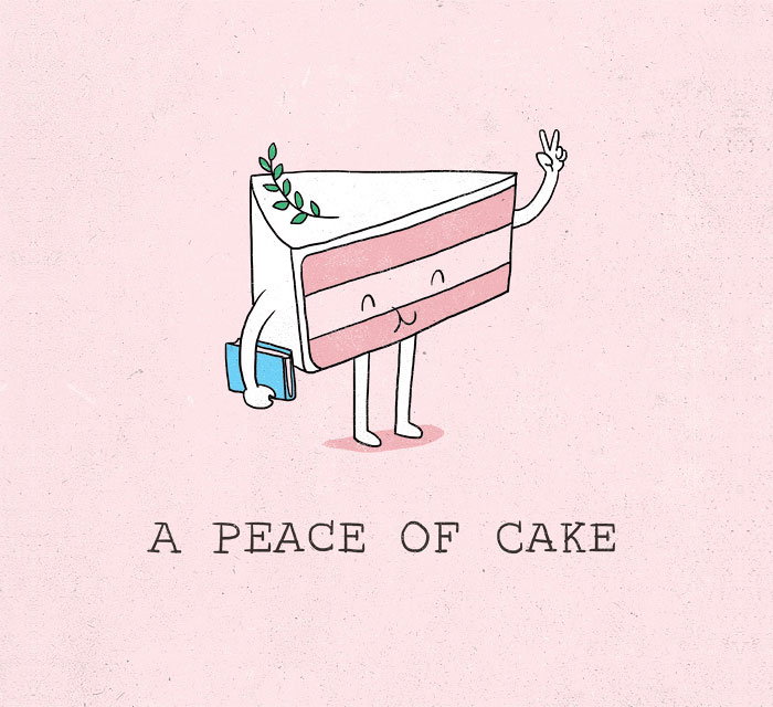 Cute Pun Illustrations Of Everyday Objects By Heng Swee Lim