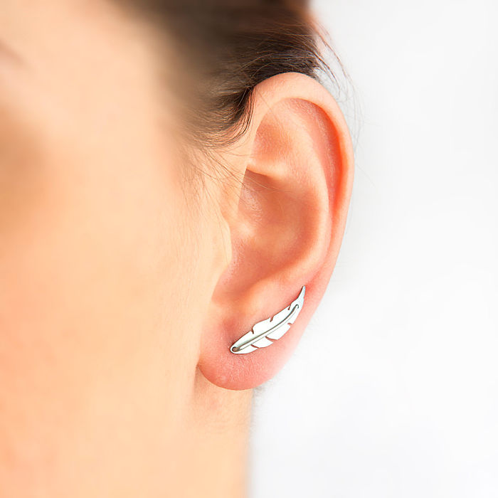 Feather Ear Pins
