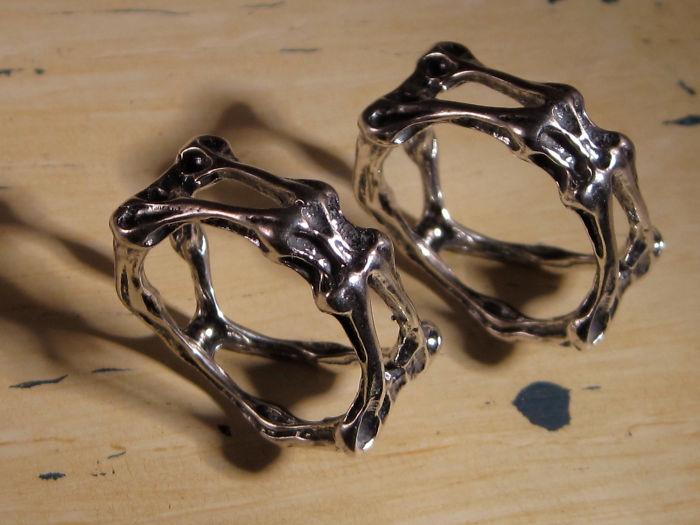 Hr Geiger Inspired Jewelry By Malvoye Enterprises On Etsy