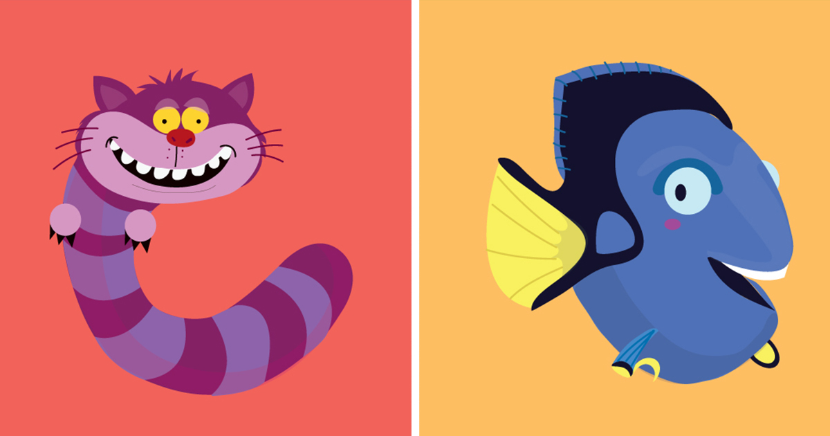 I made an illustrated alphabet inspired by animated characters i made an illustrated alphabet inspired by animated characters bored panda altavistaventures Gallery