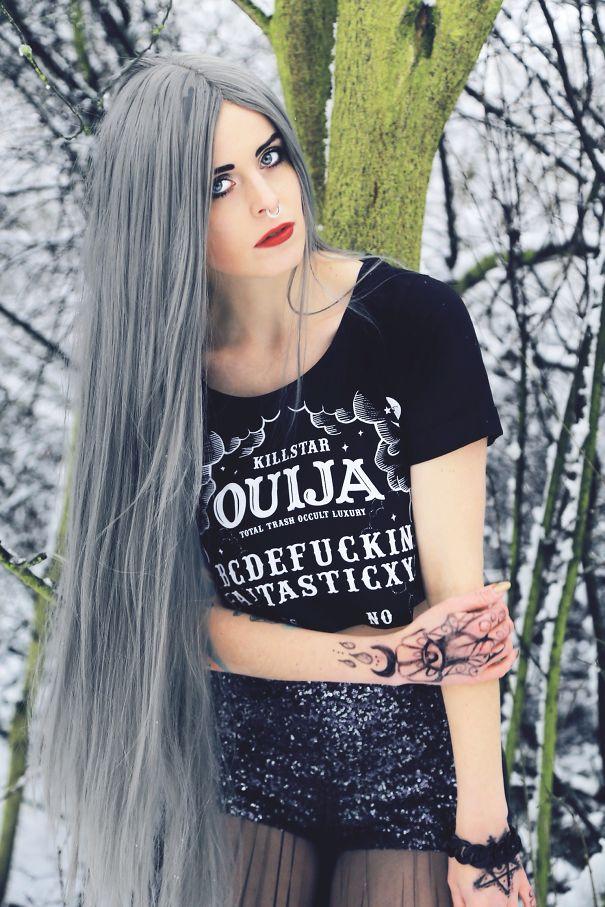 Long Granny Hair By Ig:jara_georgina