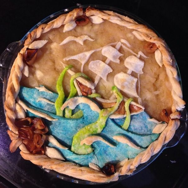 Krapple (kraken Apple) Pie