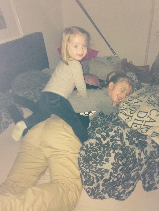 Get Up Dad!!
