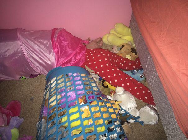 At Least She Fell Asleep.