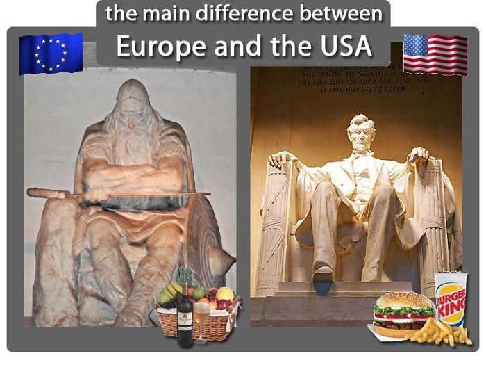 U.s.a. Vs Europe