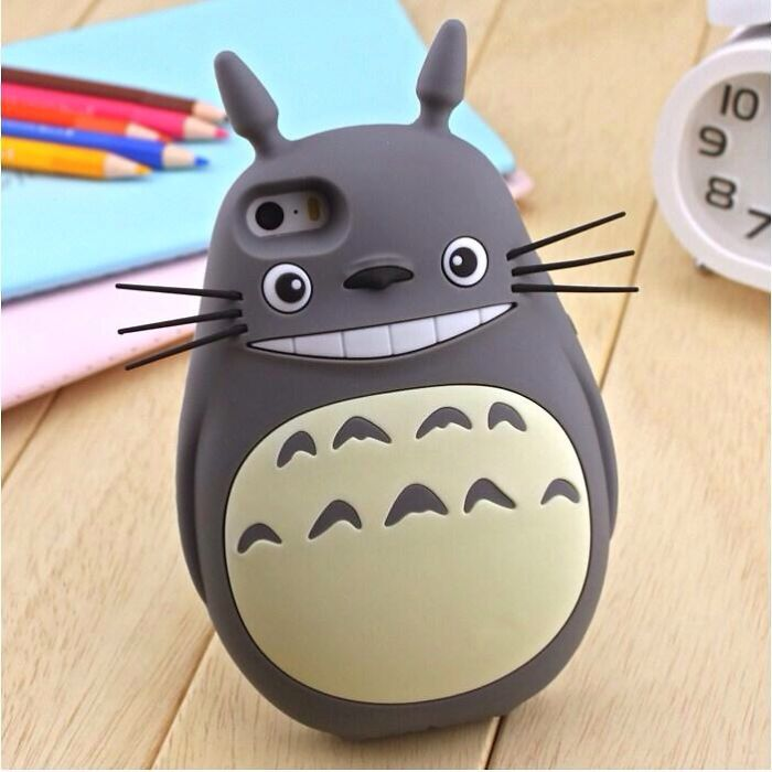 3d Totoro Iphone Case!