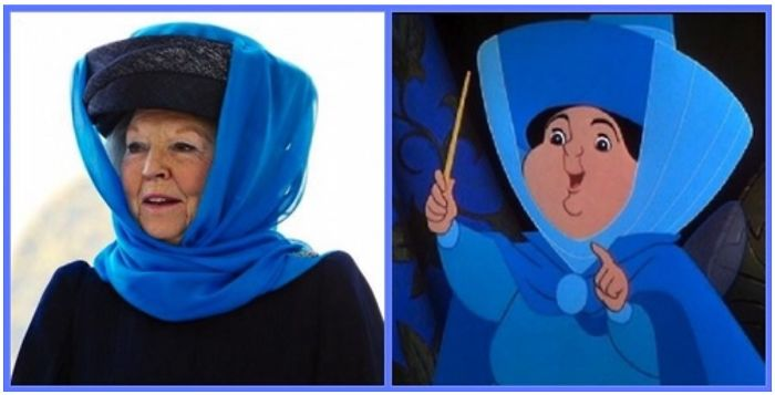 Queen Beatrix Of The Netherlands Looks Like Merryweather