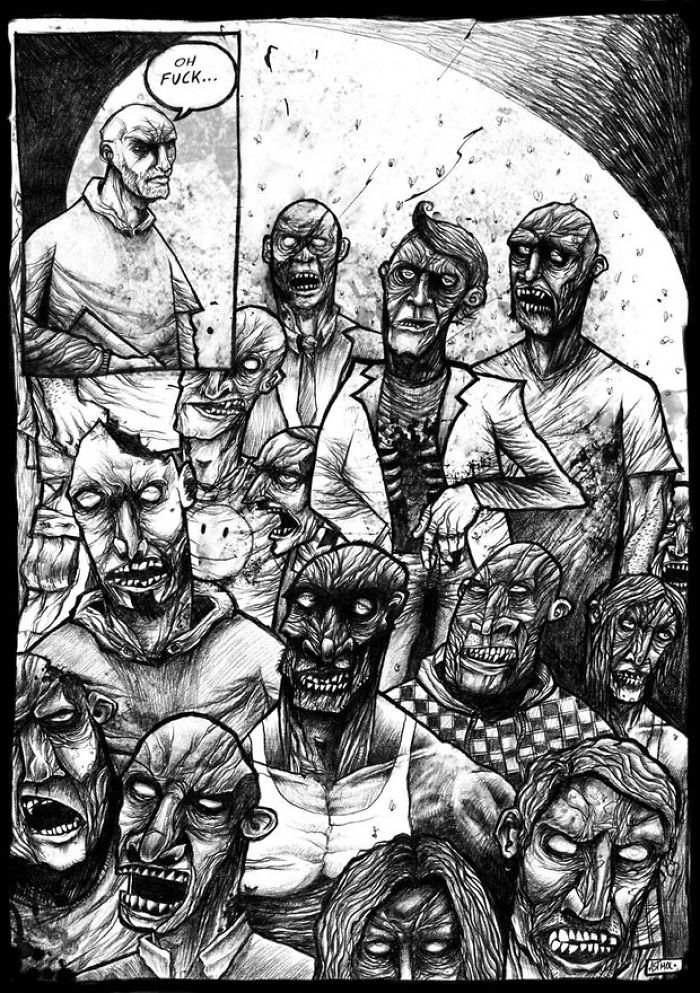Bunch Of Ugly Zombie Dudes