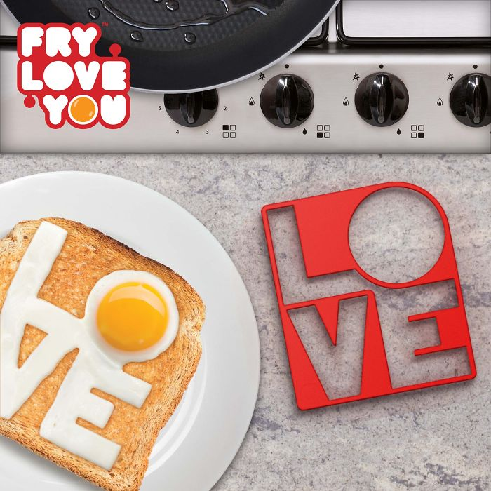 Fry Love You – Egg Mould
