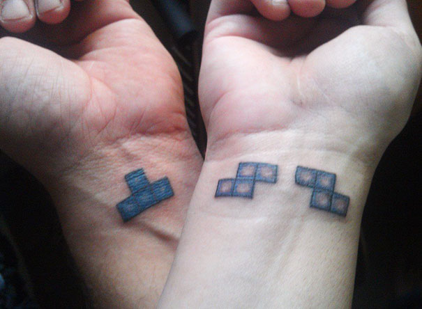 Tetris Tattoos