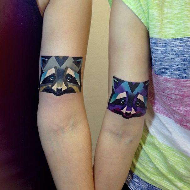 Pair Of Raccoons