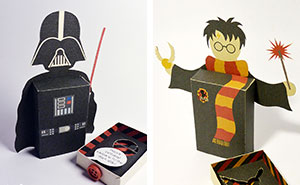 Emotiboxes: Send Your Greetings With Famous Movie Characters