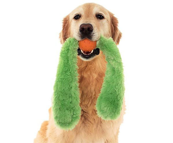 Doggles Tails Ball Dog Toy