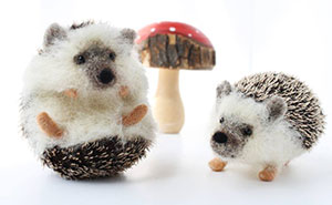 I Create Lifelike Needle-Felted Animal Sculptures