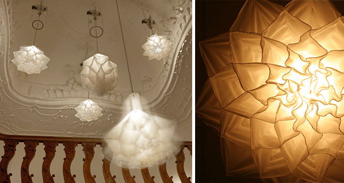 Hypnotizing Blooming Flower Lamps That Dance Like Jellyfish [Gifs + Video]