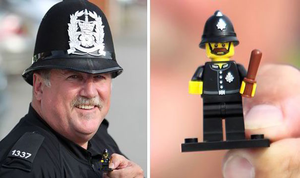 Policeman And Lego