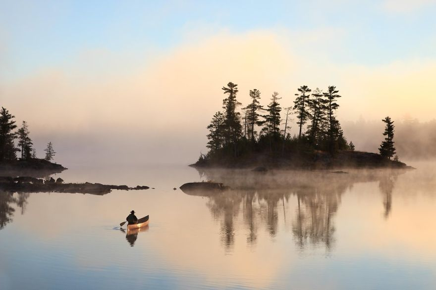 Boundary Waters Canoe Area Wilderness, Ely, Minnesota