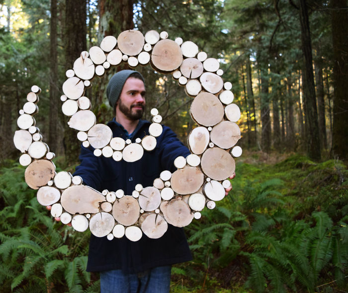 Wild Slice Designs: I Make Wall Sculptures From Reclaimed Wood