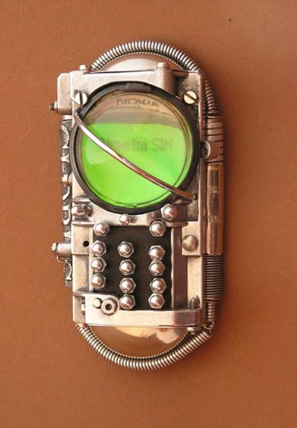 Steampunk Cell Phone - Ivan Mavrovic
