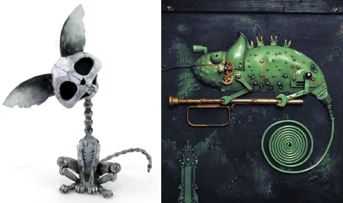 55 Of The Most Creative Scrap Metal Sculptures