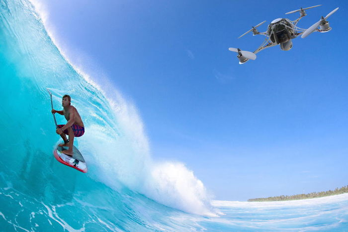 Best Drone Footage Of Surfing 2015