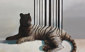Beautiful But Dangerous: I Create Paintings With A Silent Animals Rights Agenda