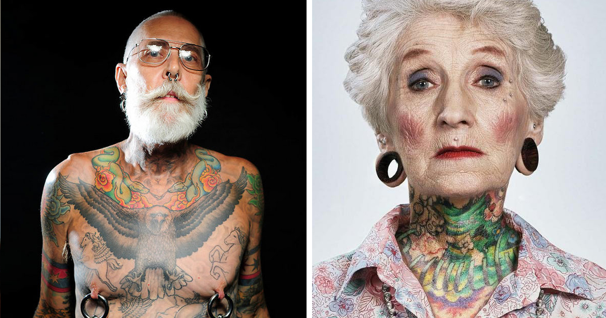 What do old people look like