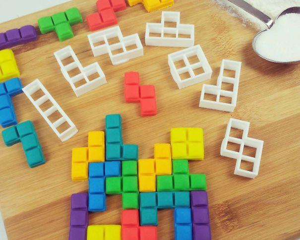 Tetris Blocks Cookie Cutters