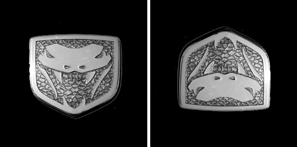 Dodge Viper Logo Is Daffy Duck Upside Down
