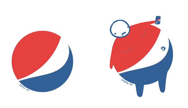 New Pepsi Logo Looks Like A Little Fat Man