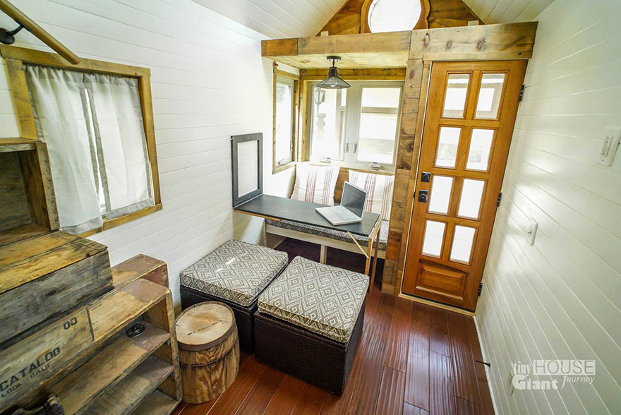 Phenomenal We Quit Our Jobs Built A Tiny House On Wheels And Hit The Road Largest Home Design Picture Inspirations Pitcheantrous