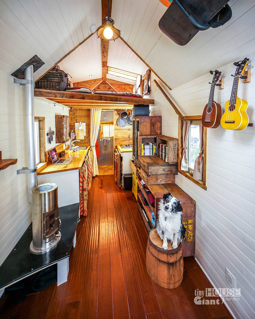 Marvelous We Quit Our Jobs Built A Tiny House On Wheels And Hit The Road Largest Home Design Picture Inspirations Pitcheantrous