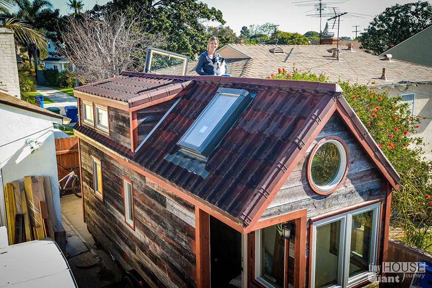Cool We Quit Our Jobs Built A Tiny House On Wheels And Hit The Road Largest Home Design Picture Inspirations Pitcheantrous