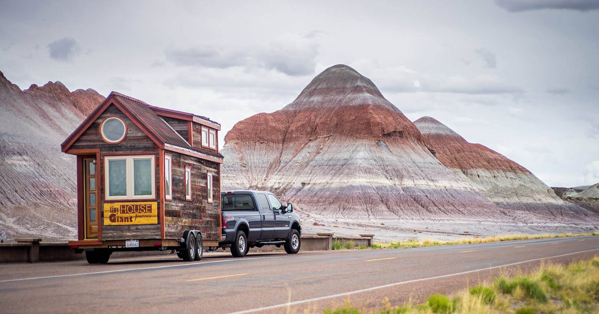 We Quit Our Jobs, Built A Tiny House On Wheels And Hit The Road
