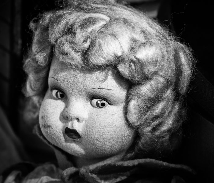 The Souls Of Dolls: Scary Photos Of Abandoned Children Companions