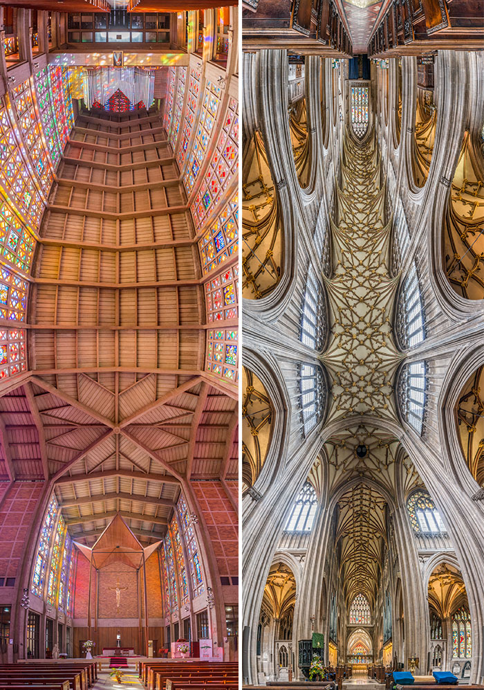 Vertical Churches: I Photograph Churches Around The World From The Perfect Perspective