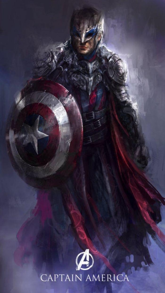 Avengers As Dark Fantasy