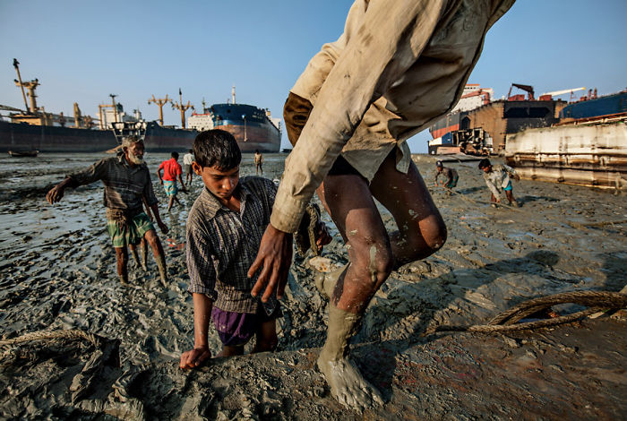 The Ship-breakers Of Bangladesh