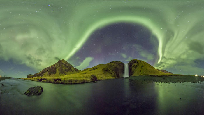 360 Degree Aurora Borealis Panoramas